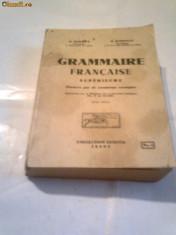 Curs limbi straine - N.SERBAN \ N.DJIONAT - GRAMMAIRE FRANCAISE SUPERIEURE Ed.1937