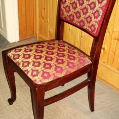 Set - Scaune tapitate - stil baroc - 4 buc - Scaun living