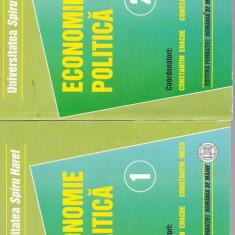 *6 A(259) Constantin Enache-ECONOMIE POLITICA 2vol - Carte Economie Politica