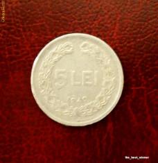Monede Romania - Romania - moneda 5 lei 1949
