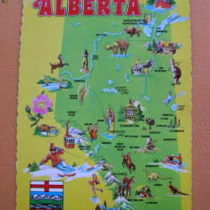 Canada - Greetings from Alberta. Circulata 1983