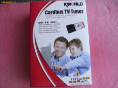 TV-Tuner PC Kingston - Cardbus TV TUNER KWORLD NB-TV100