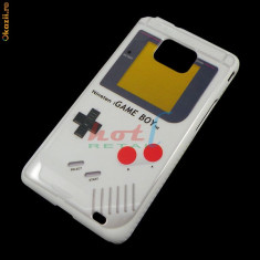 Husa plastic GameBoy Samsung Galaxy s2 i9100 + folie protectie + expediere gratuita Posta - sell by PHONICA