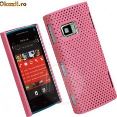 Husa mesh roz Nokia X6 - Husa Telefon