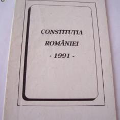CONSTITUTIA ROMANIEI ANUL 1991 - Carte Drept constitutional