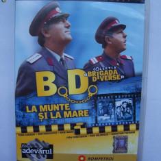 BD BRIGADA DIVERSE - LA MUNTE SI LA MARE . - Film comedie, Romana