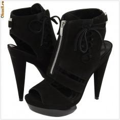 100% AUTENTIC - Pantofi VELVET ANGELS La Balajo - Pantofi cu Toc - Pantofi Piele Naturala - Pantofi Dama, Femei - Pantofi Originali VELVET ANGELS