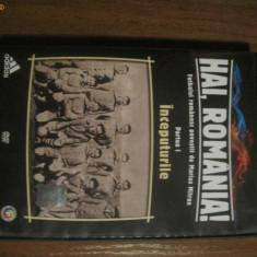 DVD Hai Romania Fotbalul romanesc povestit de Marius Mitran (partea 1) - DVD fotbal