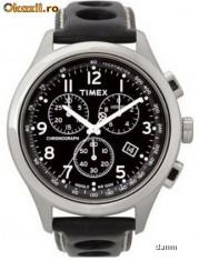 Ceas Barbatesc timex, Casual, Quartz, Inox, Piele, Cronograf - Timex T2M552 ceas barbati nou, la cutie! 100% original Oferta si comenzi ceasuri SUA