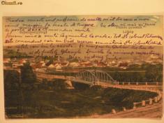 Carti Postale Romania 1904-1918 - SFANTU GHEORGHE - VEDERE GENERALA CU PODUL PESTE OLT