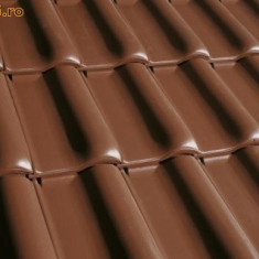 Vand acoperis tigla ceramica metalica din beton tabla lindab
