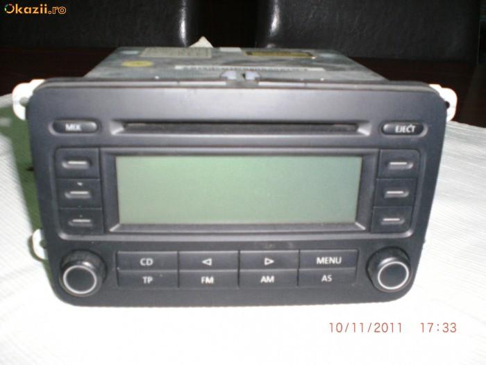 radio cd vw golf v original cd player mp3 auto okazii. Black Bedroom Furniture Sets. Home Design Ideas