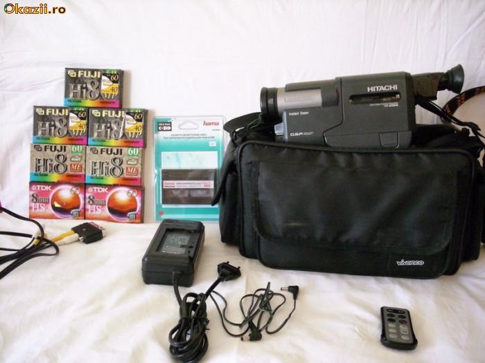 Camera video Hitachi VM-E210E 8mm (sony pioneer teac akai) foto mare