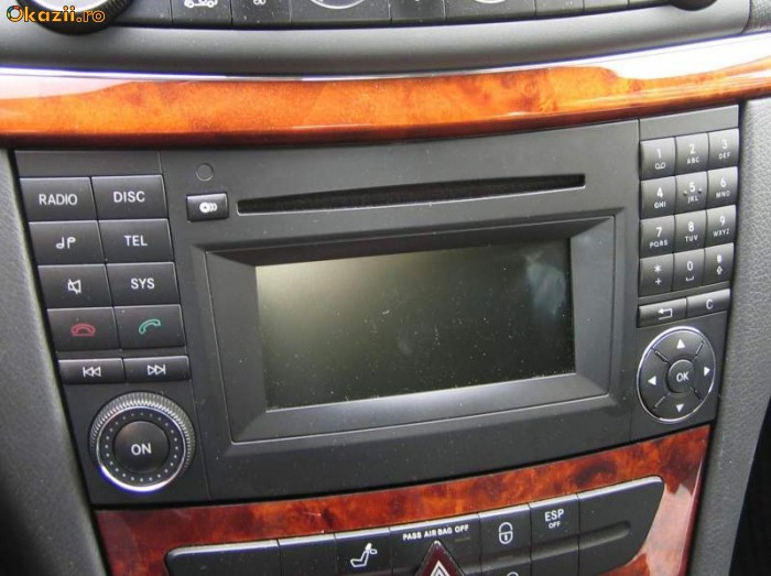 sistem audio auto mercedes w211 w219 audio 20 ntg 2 5. Black Bedroom Furniture Sets. Home Design Ideas