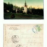 CP107-22 -Sinaia -Castelul Peles -circulata 1908