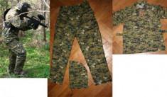 Imbracaminte Vanatoare - Costum de camuflaj digital woodland WINDBLADE