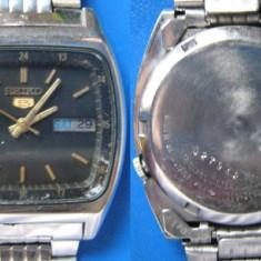 Ceas vechi SEIKO 5 7009 automatic - de colectie (c) - Ceas barbatesc Seiko, Mecanic-Automatic