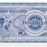 Bnk bn macedonia 1000 dinari unc