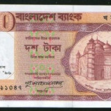 Bancnota Straine, Asia, An: 1996 - + Bancnota UNC Bangladesh 10 taka 1996 +