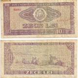 Bancnota 10 Lei - 1966