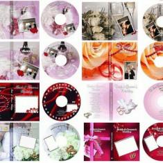 Template-uri PSD pentru coperti DVD nunti & botezuri - Software Editare video