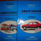 CHESTIONARE AUTO PENTRU CATEGORIILE B C SI D - Manual auto