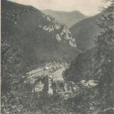 Carti Postale Romania pana la 1904 - CFL ilustrata Herculane 1902 Banat, ROMANIA vedere generala