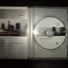DVD NAVIGATE AUDI (MMI) RNSE ORIGINAL ROMANIA - Software GPS