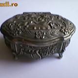 Metal/Fonta - CASETA BIJUTERII METAL