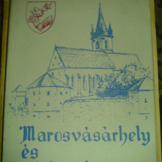 Marosvasarhely es vartemploma (Tg Mures) - Medvigy Endre - Carte Geografie