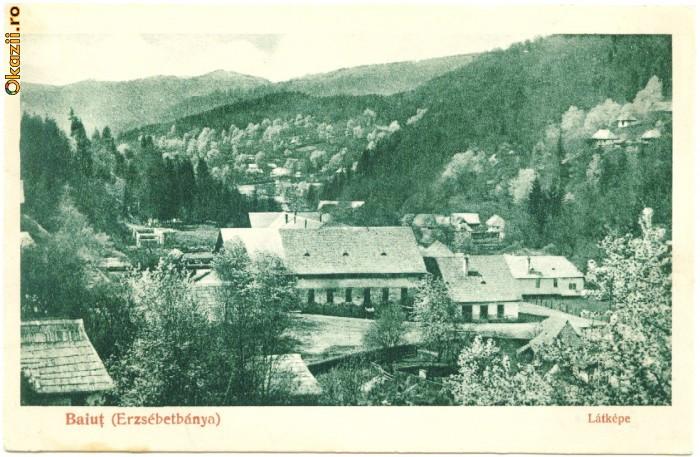 Baiut/Erzsebetbanya/Maramures,aprox.1920,rara! foto mare