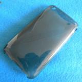 Carcasa iPhone 3G 3GS - editie limitata - BLACK CIRCLE - Husa Telefon Apple