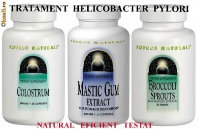 Tratament Helicobacter Brocoli-Sulforaphane Mastic Gum Colostrum foto