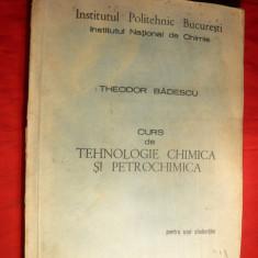 Th.Badescu -IPB - Tehnologie Chim. si Petrochimica -1980 --Curs