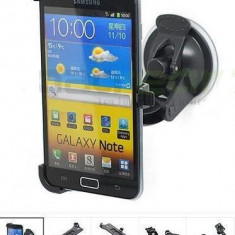 Suport + incarcator auto Samsung Galaxy Note i9220 N7000 + stylus - Suport auto