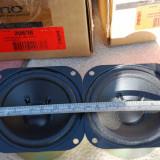 Difuzoare woofer/midrange JAMO 20638 fabricate de Philips noi (NOS), Difuzoare bass, 0-40 W