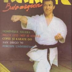KARATE Budo - Magazin - Nr.2 -1990 - Nr De Colectie ( Contine Poster Bruce Lee )
