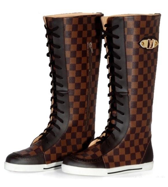 Сапоги-кеды Louis Vuitton. Женская обувь/Сапоги.