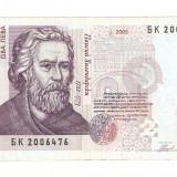 Bancnota Straine, Europa - BULGARIA 2 LEVA / 2005. XF