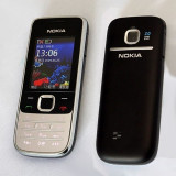 Telefon Nokia, Negru, Clasic, 2 MP, Bluetooth, E-mail - Nokia 2730 + Casti Bershka