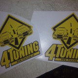 Sticker autocolant 4 tuning original - Stickere tuning