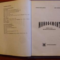 MANAGEMENT / OVIDIU NICOLESCU SI ION VERBONCU / EDITIA A 2-a REVIZUITA SI ADAUGITA - Carte afaceri