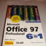 Carte Limbaje de programare - OFFICE 97 Microsoft Professional 6 in 1 - Faithe Wempen