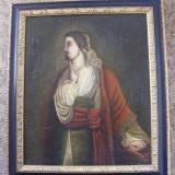 Reducere Portret sec 16, semnat pe verso - Pictor roman, Portrete, Realism