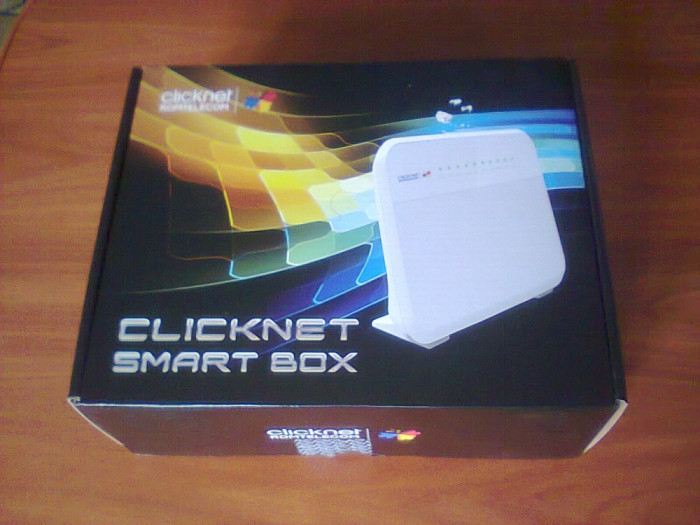 Router Wireless Romtelecom Clicknet Smart Box Huawei HG655b foto mare