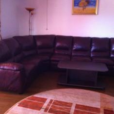 Canapea de piele mobexpert, Canapea in stil contemporan, Canapele fixe