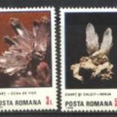 Romania 1985 - FLORI DE MINA, serie nestampilata B296 - Timbre Romania, Natura