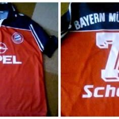 Tricou echipa fotbal, XL, De club, Bayern Munchen, Maneca scurta - TRICOU BAYERN MUNCHEN NR.7 SCHOLL