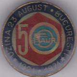 Insigna aniversara1921-1971 Uzina 23 August Bucuresti 50 FAUR