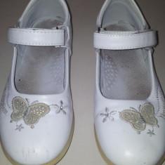 Pantofi copii, Fete - SH: Pantofi albi de fete marimea 30, ca noi, talpa interior 18 cm